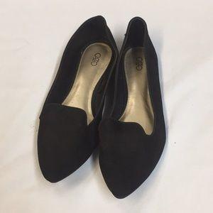 Black Cato Size 10 Flats.